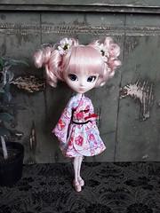 Ki Alice (Lunalila1) Tags: doll groove pullip alice du jardin pink handmade outfit costura lolita loli kimono ki quimono