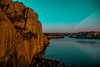 The Cliff (evakongshavn) Tags: blahblahscape cliff thecliff water waterscape rock ocean northsea light evatude evavision