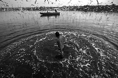 Swirl (Rk Rao) Tags: bw blackandwhite lowlight yamunariver mesmerising monochrome nature fineart fineartphotography art artistic swirl shadowandlight patterns towardslight travel people places incredibleindia beauty naturallight rkrao radhakrishnaraoartist rkclicks delhi india sea water