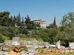 Athens, ancient agora - Temple of Hephaestus (KaterinaN.) Tags: nika athens greece temple hephaestus ancient agora