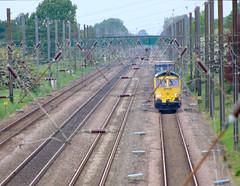 Overton Bridge 66546 Distant (Ravensthorpe) Tags: york rail trains diesel