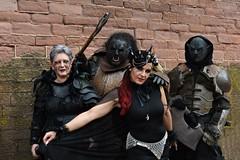 Orks - 10 (fotomänni) Tags: ork orks fantasy kostüme kostümiert costumes costumed masken masks manfredweis