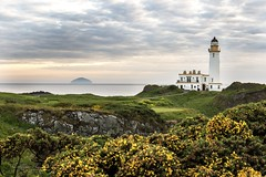 Turnberry Golf Course and Lighthouse... (Catherine Cochrane) Tags: lighthouse golf uk landscape light outdoors golfcourse scotland sea water