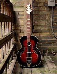 Classic Vintage Guitar (jaypegs) Tags: guitar vintage acoustic music instrument