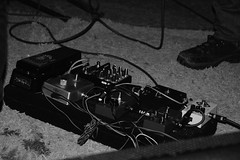 Someone's pedalboard (Andrei Makarov) Tags: music pedalboard stage concert show