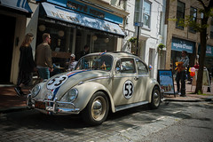 Herbie (Jacko 999) Tags: car beetle street herbie love bug 1963 volkswagen goes bananas monte carlo rides again fully loaded 2005 canon eos 7d mark ii 816mm ƒ63 sigma 160 mm 1320 100 16mm robert eede