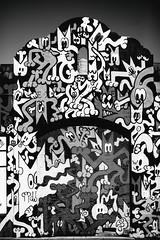 The Colors of the Mission (Thomas Hawk) Tags: america california mission missiondistrict sanfrancisco usa unitedstates unitedstatesofamerica bw graffiti streetart us fav10 fav25