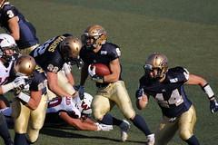 WR Run (yukky89_yamashita) Tags: 関西大学 kaisers qb run football american osaka japan kansai university wr