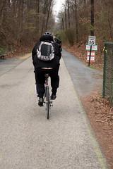 Commute (Daquella manera) Tags: md maryland cct capital crescent trail ciclyst ciclista