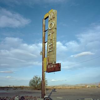 motel / route 66. mojave desert, ca. 2016.