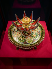 Perfume Holder, Jaipur, 1876 (jacquemart) Tags: buckinghampalace splendoursofthesubcontinent queensgallery london india arts crafts exhibition perfumeholder jaipur 1876