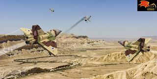 Mirage IIIs against Mig-21s