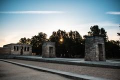 Templo de debod (Mikel.L.Ruiz) Tags: mikel lopez ruiz templo de debod madrid