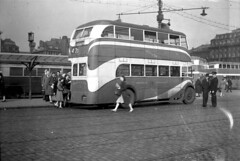 Manchester Corporation Crossley Mancunian 621. (island traction) Tags: wartime mancunian buses bus prewar war pre engined engine oil vr6 crossley corporation manchester streamline streamliner