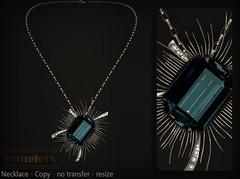KUNGLERS - Dalva AD turmaline (AvaGardner Kungler) Tags: kunglers avagardnerkungler secondlife jewelry mesh virtualworlds virtualjewelry avakungler gemstone necklace fantasy roleplay