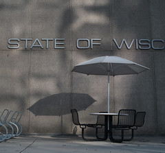 State of Wisc (humbletree) Tags: wisconsin madison morning shadows