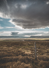 Moody Iceland (Frédéric T. Leblanc) Tags: iceland icelandic sky clouds blue blueness light sun travel traveller travelling explore exploring exploration visual canon 5d mk3 mark3 mkiii markiii moment capture create view outdoor nature