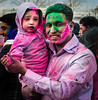 HoliFather (bigbuddy1988) Tags: portrait photography people art new digital nyc usa nikon d300 father family holi festival newyork pink color face kid love fathersday