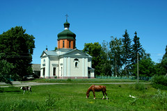 The temple in honor of the St. Apostle and Evangelist John the Theologian in the village of Minkovcy. (valery_pokotylo) Tags: ukraine христианство православие храм церковь миньковцы житомирская church