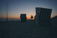 meine insel (christian mu) Tags: norderney germany meineinsel sunset sonnenuntergang christianmu sea northsea strandkörbe meer ocean beach strand sony sonya7riii sonya7rm3 batis 252 25mm batis252 zeiss sand beachchairs