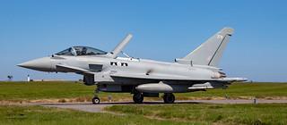 RAF 2 Sqn Typhoon FGR4