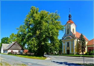 Pavlíkov - Kostel sv. Kateřiny [in explore]