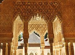 Colums of the Alhambra Granada Spain (die Augen) Tags: architecture granada spain alhambra