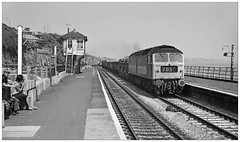 Ice creams by the sea (75/21/07) (geoff7918) Tags: dawlish 47258 mixedfreight family signalbox 30061975