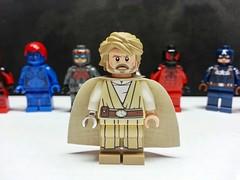 Star Wars Luke (LJH91) Tags: starwars luke lego custom minifigure figure lukeskywalker jedi phoenix pcb