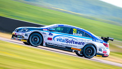 Mike Bushell Trade Price Cars with Brisky Racing  Volkswagen CC (jdl1963) Tags: thruxtonbtcctouringcars2018 mike bushell trade price cars with brisky racing volkswagen cc motorsport motor british panning