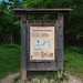 Land Between Two Rivers - Historic Sign at Wita Tanka, Fort Snelling State Park
