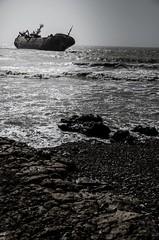 21557762_1677920772227283_1257161920563345475_n (paulosilvadefeyter) Tags: morroco abandoned boat beach
