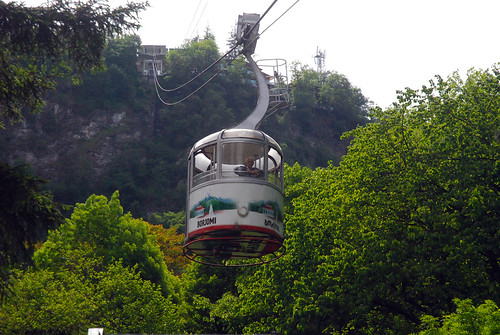Borjomi - cable car at Central Park