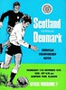 Scotland vs Denmark - 1970 (The Sky Strikers) Tags: miscellaneous scottish scotland international programme covers