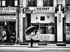 Victory (-Faisal Aljunied - !!) Tags: restaurant beryani murtabak umbrella victory singapore iphone7plus streetphotography faisalaljunied