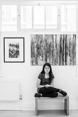 Flo, RBSA Gallery, Birmingham (DankSpangle) Tags: sony55mmf18 sonya7r