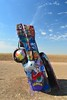 Cadillac Ranch (Janine Curry) Tags: amarillo texas cadillac ranch color janine curry pouria nikon d5200