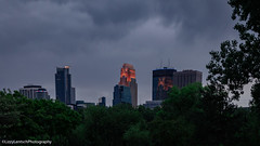 Boom Island Park (Lizzy Anderson Photography) Tags: city building storm clouds rain tree woods forest may spring 2018 night boomislandpark park minneapolis minnesota unitedstates us