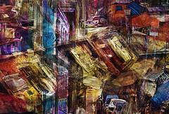 City (D'ArcyG) Tags: city urban abstract town impression geometric vivid colorful rgb ra r