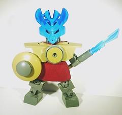 Okoto Gladiator (b3nhrv) Tags: bioniclegladiator agori lego moc bionicle gladiator