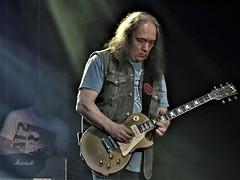 Jurek Styczyński. One of the best Polish guitarists. Band  DZEM (kopiecmarcin) Tags: dzem music musik blues gibson lespaul styczynski riedel konzert concert guitar rock light olympus omd10mark2