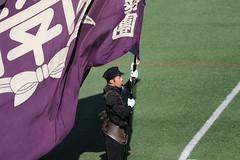 PRIDE (yukky89_yamashita) Tags: 関西大学 応援団 団旗 flag kansai university osaka japan suita 大阪 吹田市