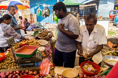 vegetable stall - Negombo (tattie62) Tags: srilanka negombo market stall vegetables business trade commerce money people places