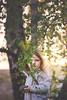 Emma, birch tree and rock (~ Maria ~) Tags: emma birch spring birhctree rock 4yearold may2018 mariakallinphotography nikond800
