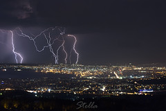 About Last Night (stellaphysics) Tags: last night thunder storm thunderstorm city citylight light thessaloniki greece summer clouds trees harbour macedoniagreece makedonia timeless macedonian macédoine mazedonien μακεδονια македонија