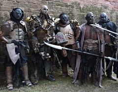 Orks - 4 (fotomänni) Tags: ork orks fantasy kostüme kostümiert costumes costumed masken masks manfredweis