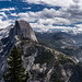 Pano from Glacier point (Yosemite National Park).