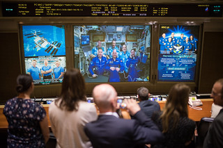 Expedition 56 Soyuz Docking (NHQ201806080012)