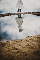 The storms of life (privizzinis passion photography) Tags: child childhood children ourdoor outdoors outside people sky clouds water movement hair color fineart reflection