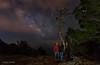 Buscando la Vía Láctea , Ibiza ... (Anton Calpagiu) Tags: ibiza atlantis milkyway night stars clouds lights nikon tamron leofoto core sea